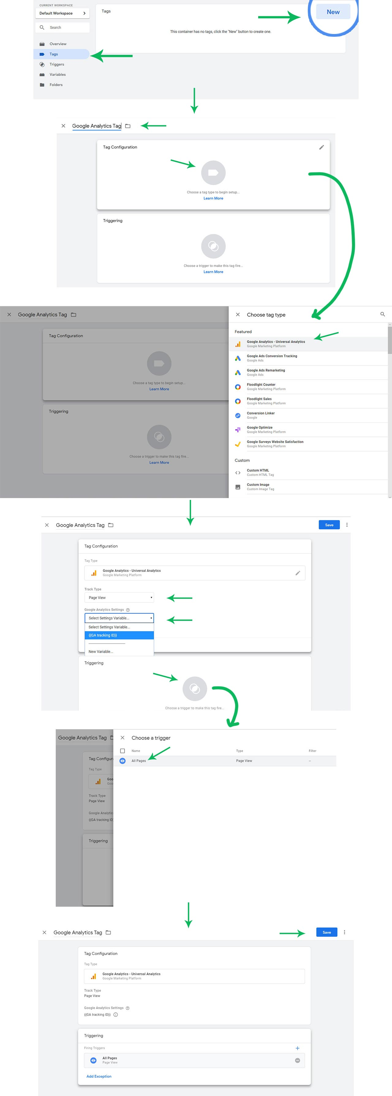 Adding Tag in Google Tag Manager