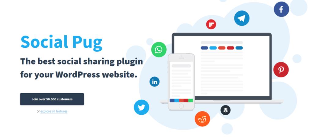 Social Pug - Social Media Plugins for WordPress