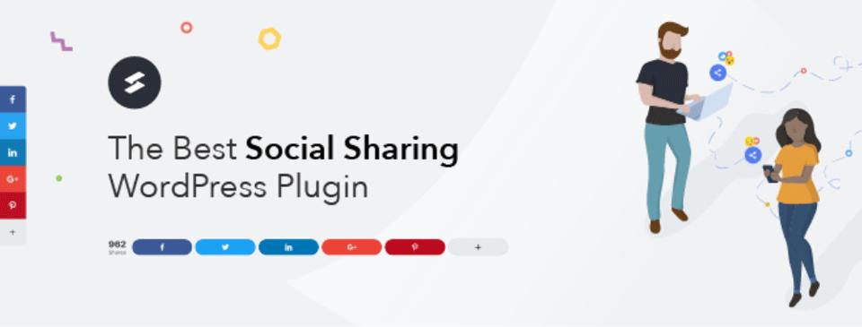 Social Snap Plugin - best social media plugins for WordPRess