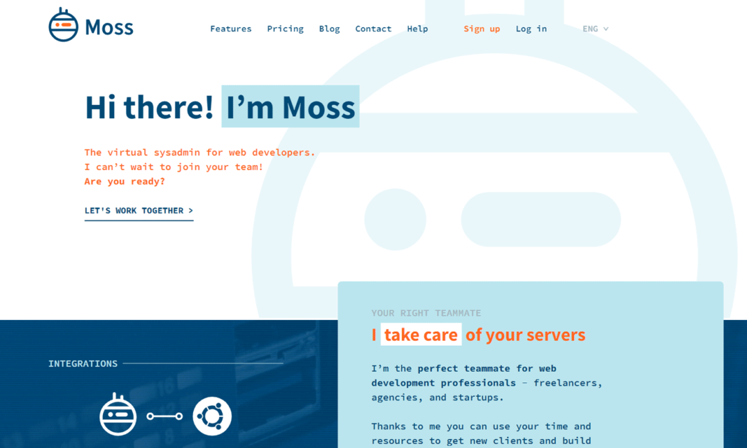 Moss - Server Management