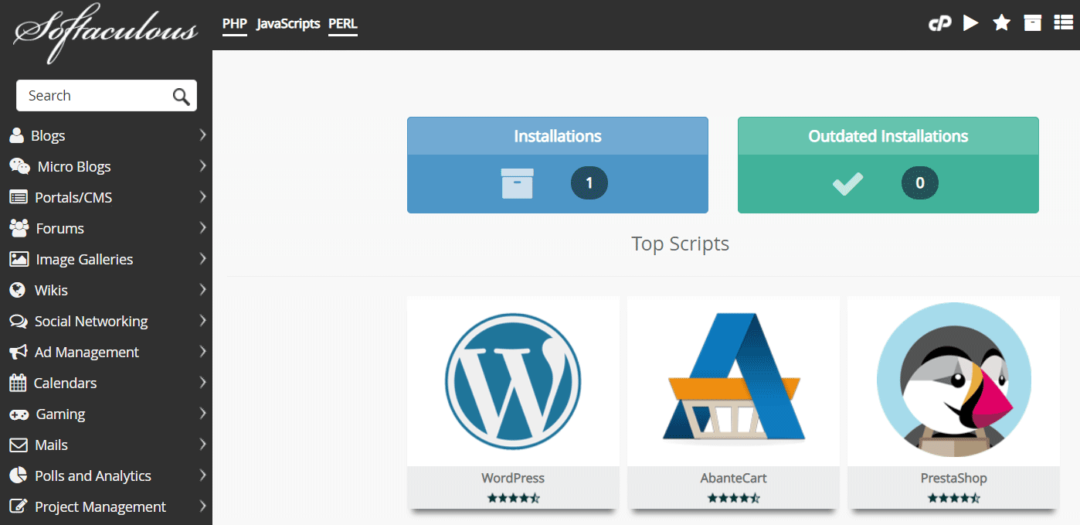 Install WordPress on MilesWeb