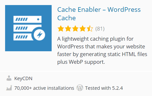 Cache Enabler
