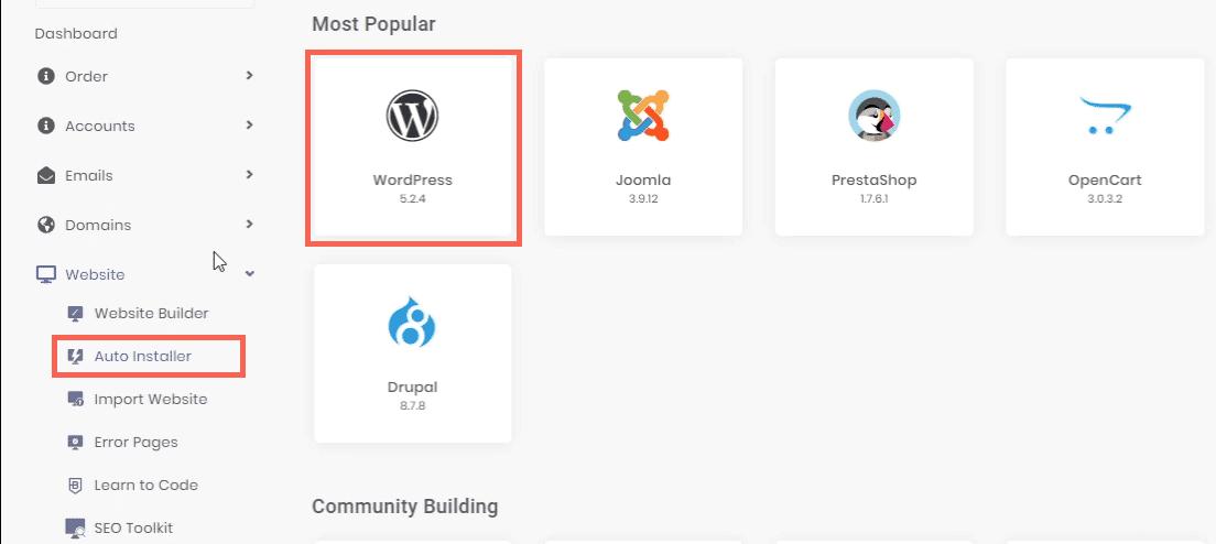one-click app installs