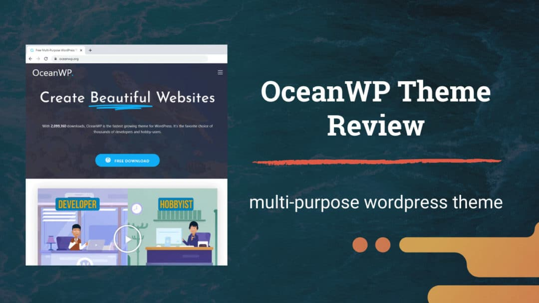 OceanWP WordPress Theme Review