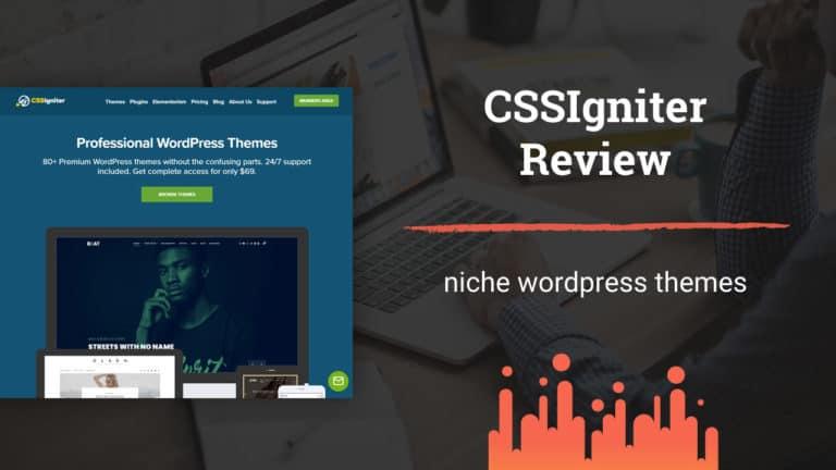 CSSIgniter Review - Premium WordPress Theme Provider