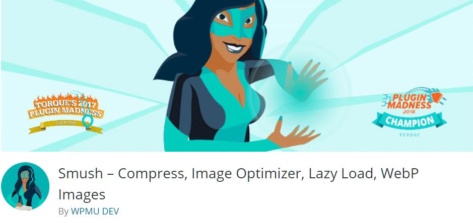 Smush - image compression plugin from WPMU Dev