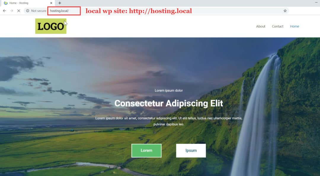 local site - how to migrate wordpress from localhost to live server