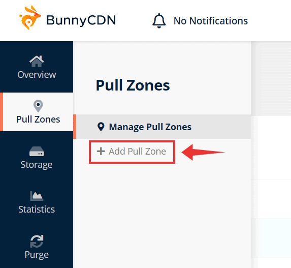add pull zone