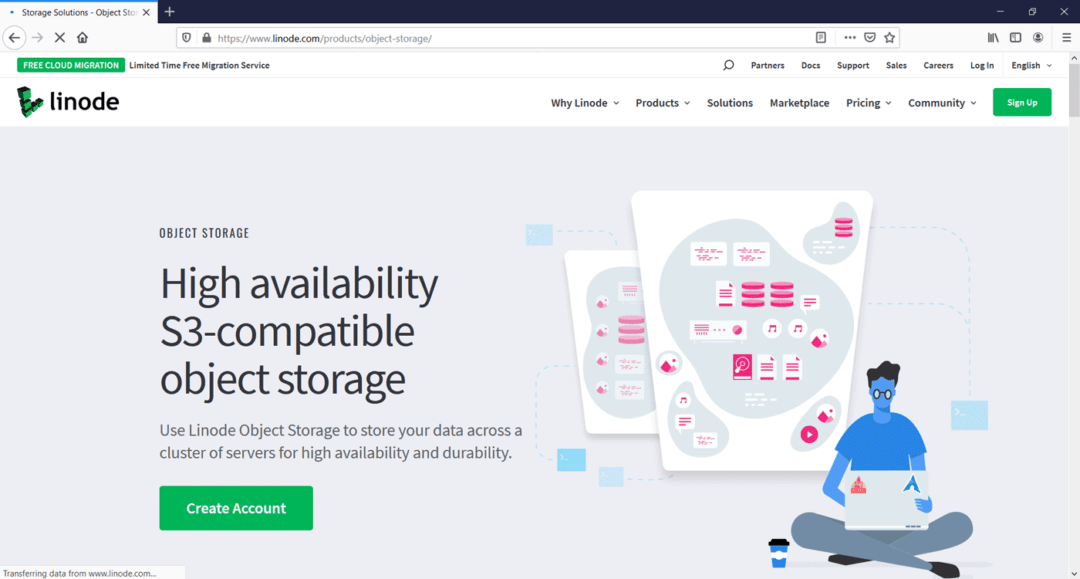 linode object storage