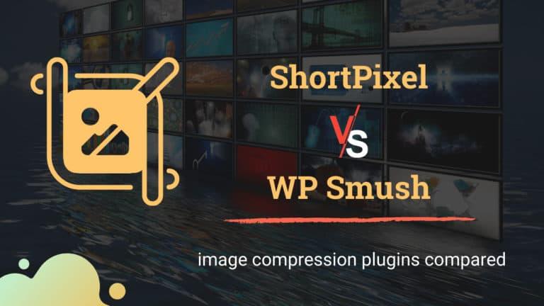 Shortpixel vs wp smush comparison