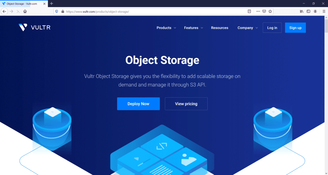 vultr object storage