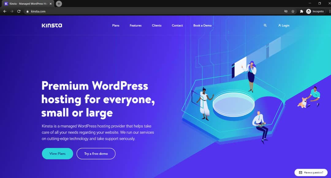 kinsta wordpress hosting