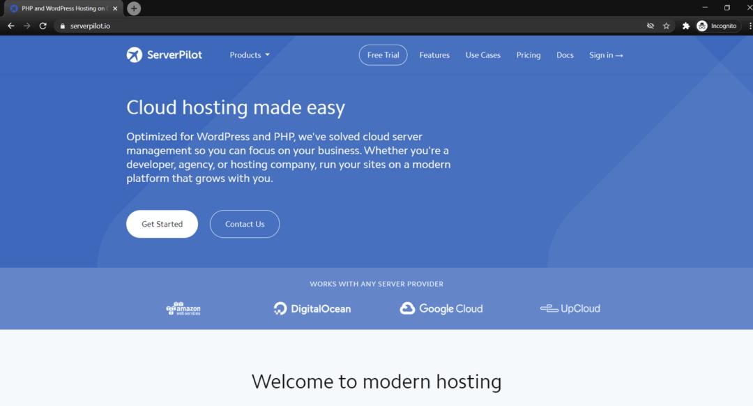 serverpilot hosting