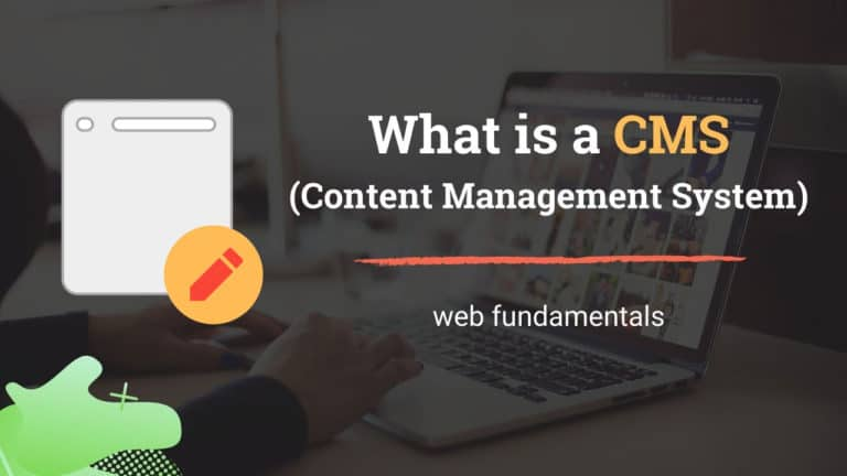 What is a CMS (Content Management System)