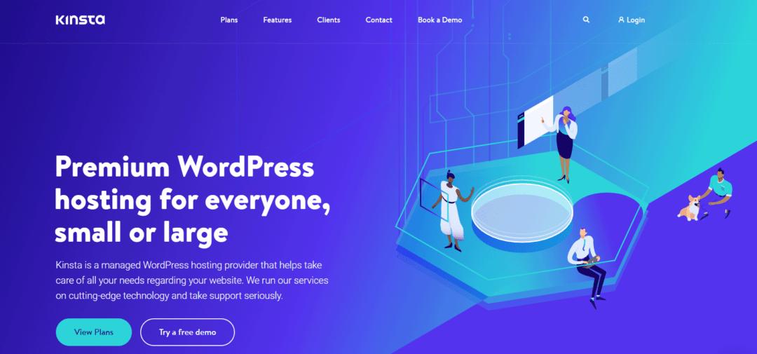 kinsta - hosting wordpress on google cloud