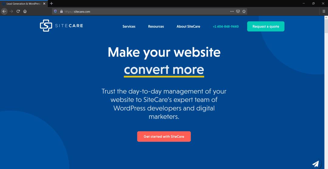 sitecare