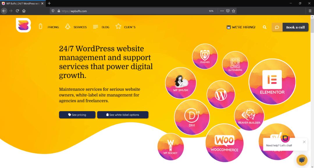 WP Buffs - Best WordPress Maintenance Services