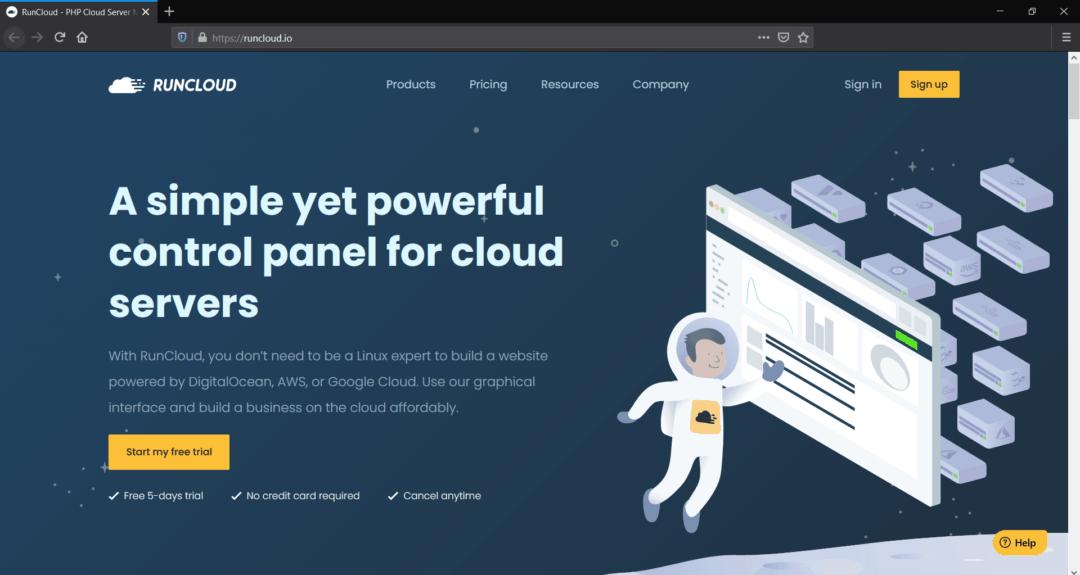 runcloud wordpress cloud hosting