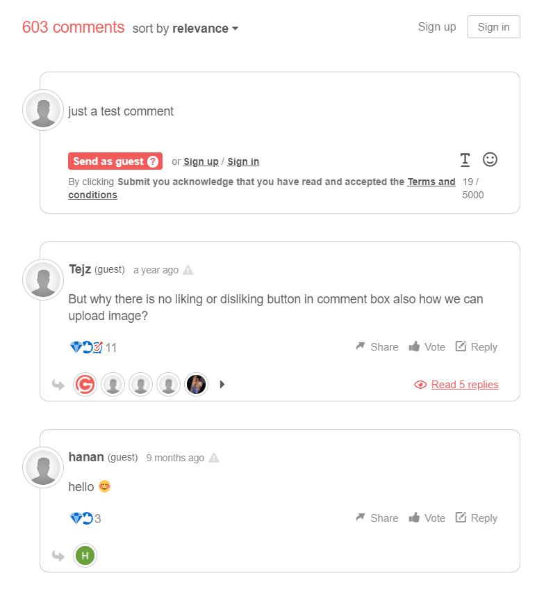GraphComment demo