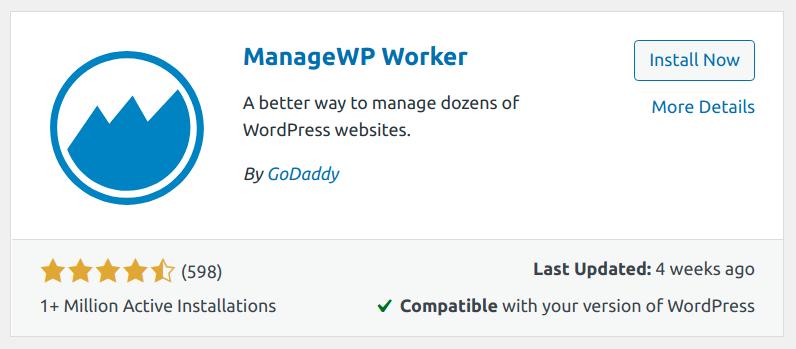 managewp worker plugin